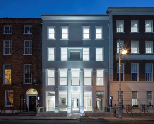 Ensemble of historic buildings purchased in Dublin